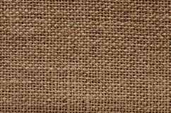Natural burlap texture Stock Photography