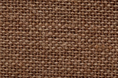Natural burlap texture Stock Photo