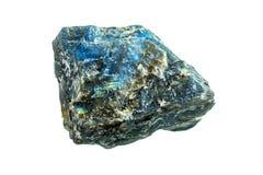 Blue agate specimen stock images