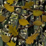 Natural Camouflage. Seamless Texture Tile vector illustration
