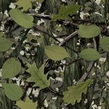 Natural Camouflage. Seamless Texture Tile Royalty Free Stock Photography