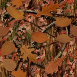 Natural Camouflage. Seamless Texture Tile stock illustration