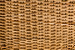 Natural cane weaved furniture texture Royalty Free Stock Images