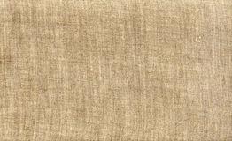 Natural canvas, linen canvas. The background texture Stock Image