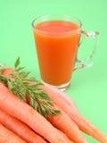 Natural carrot juice Stock Photography