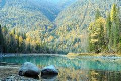 Natural categories: Kanas scenery Stock Photo