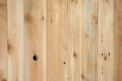 Natural cedar planks Royalty Free Stock Photography
