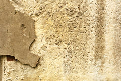 Natural cement or stone. Old texture Stock Images