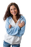 Natural charming woman Royalty Free Stock Image