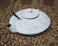 Natural Chinese green tea Royalty Free Stock Image