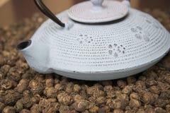 Natural Chinese green tea Stock Photos