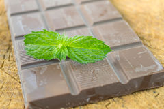 Natural chocolate Royalty Free Stock Images