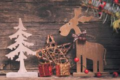 Natural christmas decor Stock Photography
