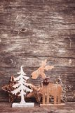 Natural christmas decor Royalty Free Stock Photos