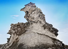 Natural cliff formation Stock Photo