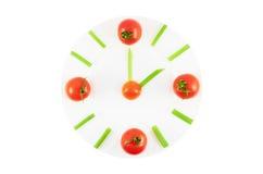 Natural clock Stock Images