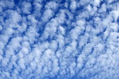 Morning Cloud Pattern royalty free stock photo