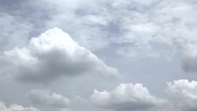 Natural clouds and sky. Backgrounds stock footage