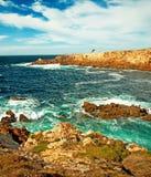 Natural coast Royalty Free Stock Photo