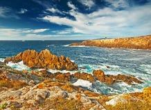 Natural coast Royalty Free Stock Image