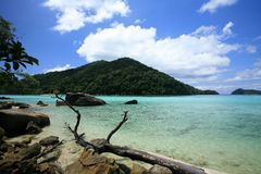 Natural coast landscape at Surin islands Stock Image