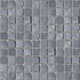 Natural cobblestone seamless texture royalty free stock photo