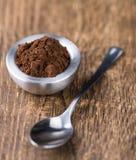 Natural Cocoa powder Royalty Free Stock Photography