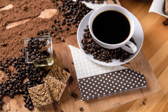 Natural coffee, home concept, natural food Stock Image