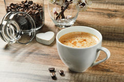 Natural coffee Stock Images