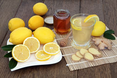 Natural Cold and Flu Remedy Stock Photos