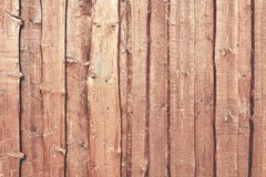 Natural Color Barn Timber Wall Made From Rough Overlapped Boards royalty free stock images