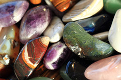 natural color gems background royalty free stock photo