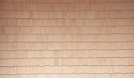 Natural Color Wood Shingles Home Siding Background Stock Photo
