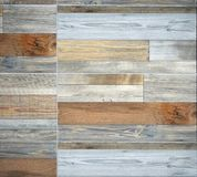 Natural and colored wood panel used for rustic wall interiors . stock photos