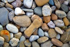 Sea pebbles background. Stones seamless pattern. seamless background with smooth pebble. stock image