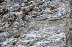 Queenstown Schiste Rock Formation royalty free stock photography