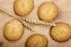 Natural cookies Royalty Free Stock Images