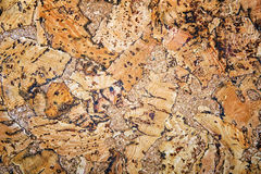 Natural cork texture background. Royalty Free Stock Image