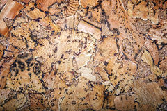 Natural cork texture background. Stock Photography