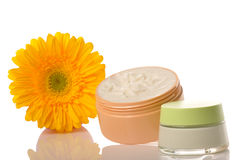Natural cosmetics Stock Photography