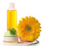 Natural cosmetics Stock Photo