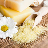 Natural cosmetics Stock Image