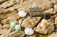 Natural cosmetics Royalty Free Stock Photos