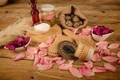 Natural cosmetics Stock Image