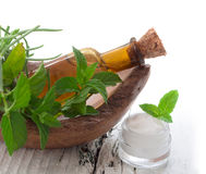 Natural cosmetics Royalty Free Stock Images
