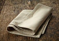 Natural cotton napkin Stock Images