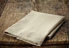 Natural cotton napkin Royalty Free Stock Image