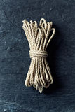 Natural cotton string Stock Photography