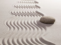 Natural curves in sand Stock Images
