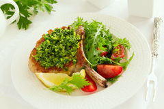 Natural cutlet Stock Images